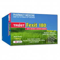 Trust Fexit 180mg 50 Tablets