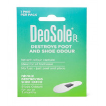 Deosole Shoe Odour Patch 1 Pair