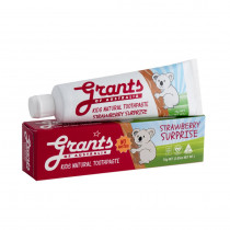 Grants of Australia Strawberry Surprise Kids Natural Toothpaste 75g