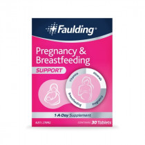 Faulding Pregnancy and Breastfeeding Support 30 Tablets