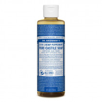 Dr. Bronners Pure-Castile Liquid Soap Peppermint 237ml