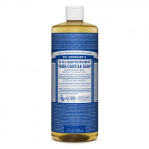 Dr. Bronners Pure-Castile Liquid Soap Peppermint 946ml