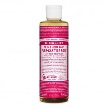 Dr. Bronners Pure-Castile Liquid Soap Rose 237ml