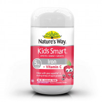 Natures Way Kids Smart Iron Chewable 50 Tablets