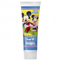 Oral-B Stages Mickey Mouse Berry Bubble Toothpaste 92g