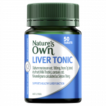 Natures Own Liver Tonic Milk Thistle 7000mg 50 Tablets