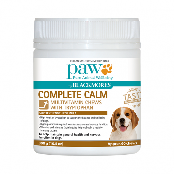 Blackmores PAW Complete Calm Multivitamin + Tryptophan Chews 300g