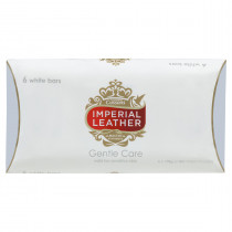 Imperial Leather Gentle Care White Bar Soap 6 x 100g