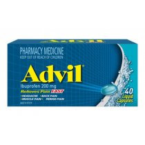 Advil Liquid Capsules 40 Capsules