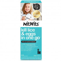 NitWits All In One Head Lice Treatment Spray 120ml