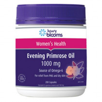 Henry Blooms Evening Primrose Oil 1000mg 200 Capsules