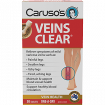 Caruso's Veins Clear 30 Tablets