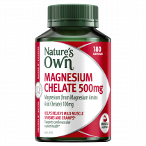 Natures Own Magnesium Chelate 500mg 180 Capsules