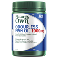 Natures Own Odourless Fish Oil 1000mg 400 Capsules