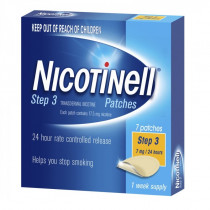 Nicotinell Patches Step 3 7mg 7 Patches