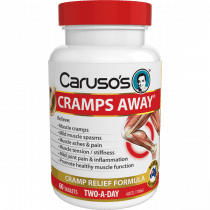 Carusos Cramps Away 60 Tablets