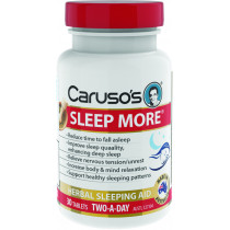 Caruso's Sleep More 30 Tablets