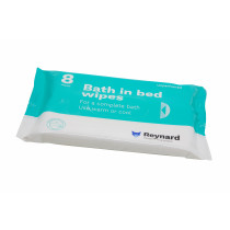 Reynard Bath in Bed Wipes 8 Wipes