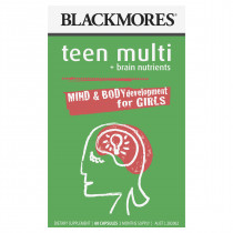 Blackmores Teen Multi for Girls 60 Capsules