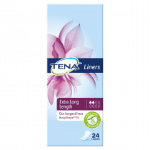 Tena Liners Extra Long Length 24 Pack