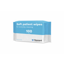 Reynard Soft Disposable Patient Wipes 100 Wipes