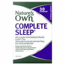 Natures Own Complete Sleep 30 Capsules