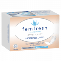 Femfresh Breathable Liners 36 Pack