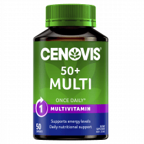 Cenovis Once Daily Multi Vitamins & Minerals 50+ 50 Caps