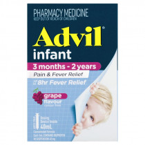 Advil Infants Pain & Fever Relief Suspension 3 Months - 2 Years 40ml