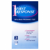 First Response Pregnancy Test Dip & Read 3 pack