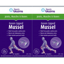 Henry Blooms Green Lipped Mussel Twin Pack (2 x 60 Capsules)