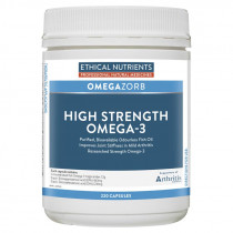 Ethical Nutrients Omegazorb High Strength Omega-3 220 Capsules