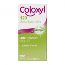 Coloxyl 120mg 100 Tablets
