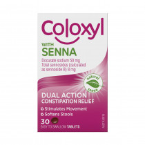 Coloxyl With Senna 30 Tablets