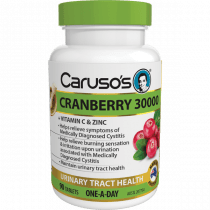 Caruso's Cranberry 30000 90 Tablets