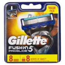 Gillette Fusion5 Pro Glide Cartridges 8 Pack