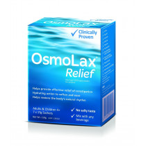 OsmoLax Relief Macrogol Osmotic Laxative Powder Travel Pack 17g x 7 Doses (119g)