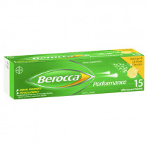 Berocca Performance Mango & Orange 15 Effervescent Tablets