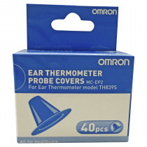 Omron Ear Thermometer Probe Cover MC-EP2 For Ear Thermometer Model TH839S 40 Pack