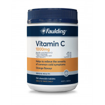 Faulding Remedies Vitamin C 1000mg Chewable 150 Tablets